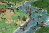 Why did the Russians cross the river