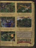 Empires advertisement: first page of magazine, from the October 2003 issue of PCGamer