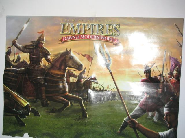 Empires Poster from Nov 2003 CGW Maganize