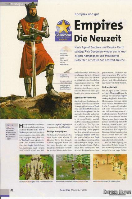 Gamestar Magazine Review (Page 1)