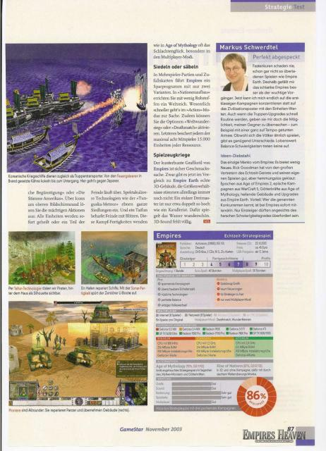 Gamestar Magazine Review (Page 5)