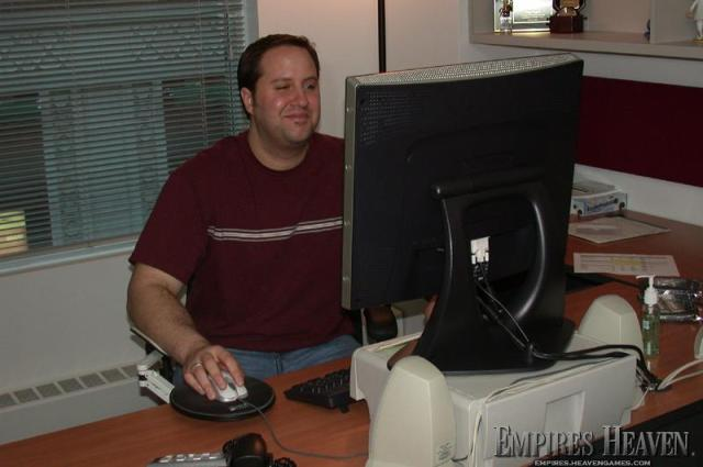 Greg, Graphics Programmer